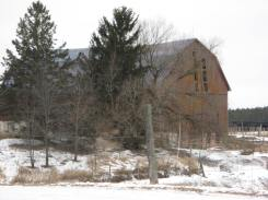 Another Castle Rd barn it most recently housed whitefaced beef cattle.