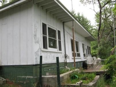Cobbled together cottage.