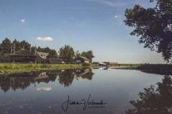 Dutch view water reflection