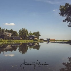 Dutch view water reflection