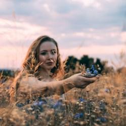 Rural soft portrait