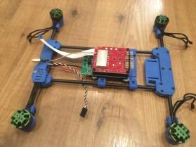 Raspberry Pi mounted