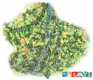 carte tourisme Basse-Meuse