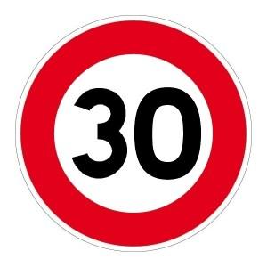 Panneau 30 KMH