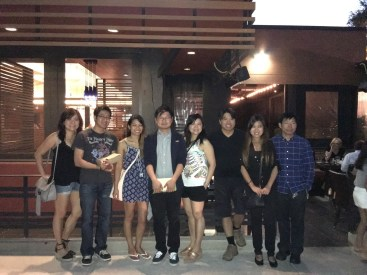 July 15 - Bday dinner with my relatives
