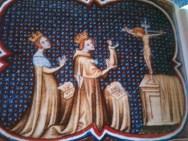 Couronnement de Louis VII et Aliénor d'Aquitaine
