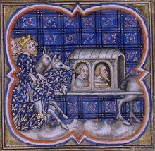Ferrand de Portugal et Renaud de Dammartin prisonniers à Bouvines