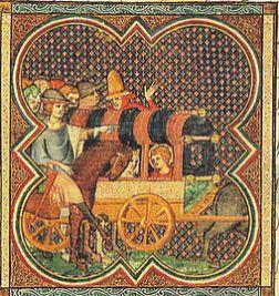 Louis IX et sa mère Blanche de Castille
