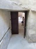 Porte d'accès au cloître