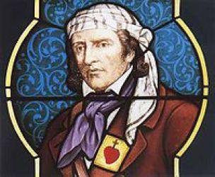 Jean Perdriau vitrail de l'église Saint Pavain de Pin en Mauges