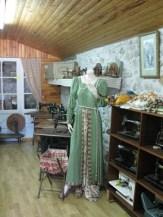 Salle de vêtements et de machines à coudre