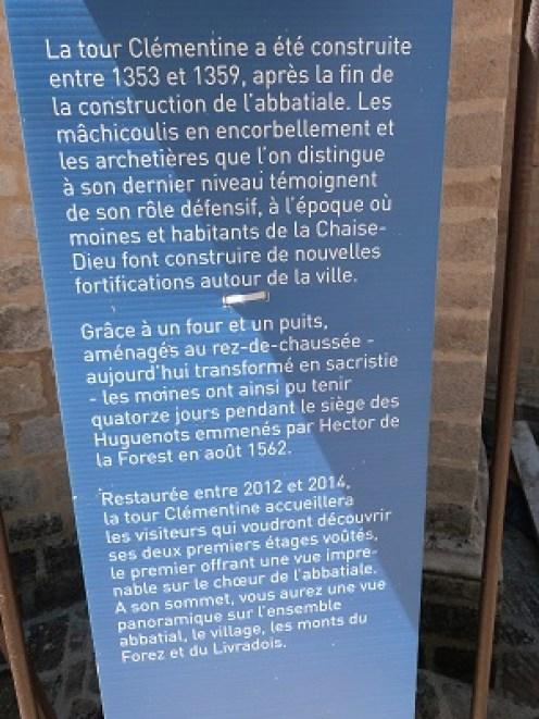 Tour Clémentine