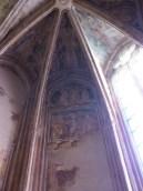 Chapelle de Tous les Saints St Christophe portant l'Enfant Jésus et St Georges
