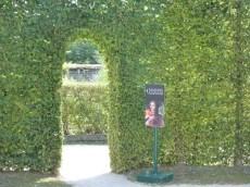 Porte d'accès à la Maison d'Aliènor