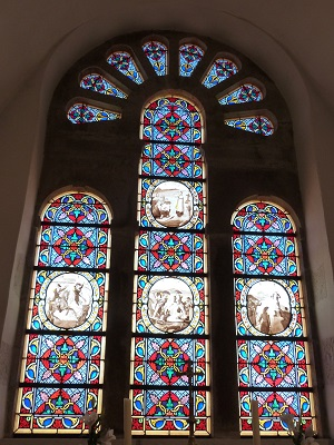 Vitraux de la chapelle