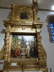 Retable de la chapelle Sainte Roseline