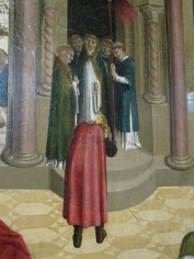 Saint Mitre portant sa tête