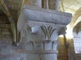 Salle capitulaire, chapiteaux