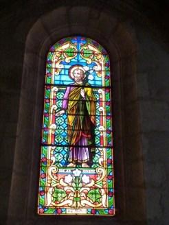 Vitrail de 1934 de P Dutruc, Saint Joseph