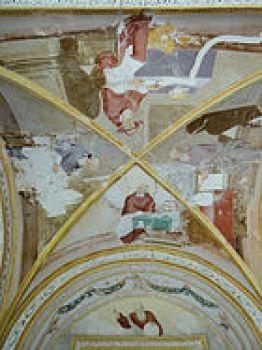 La voûte du porche de la Chapelle