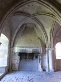 Le chauffoir, cheminée