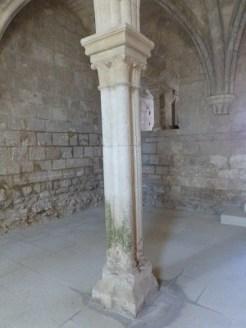 Salle capitulaire, colonne