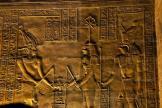 Scènes royales dans les salles du temple