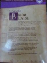 Chapelle Saint Blaise