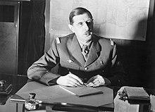 Le général de Gaulle en 1940 à Londres