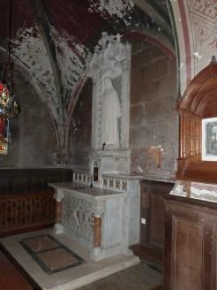 Chapelle dans collatéral gauche