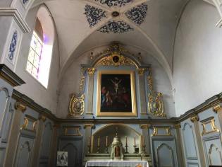 L'autel de l'église paroissiale