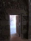Le cloître, porte d'accès