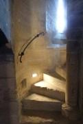 La Tour des Masques-escalier à vis