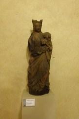 Le Cellier-Vierge à l'Enfant 17ème siècle.