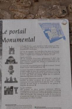 Le portail monumental