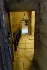 Porte donnant à la salle des herses