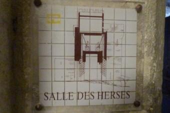 Salle des herses