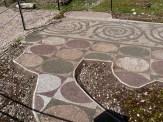 Palestre occidentale mosaïque au sol