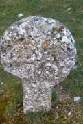 Cimetière - stèle discoïdale