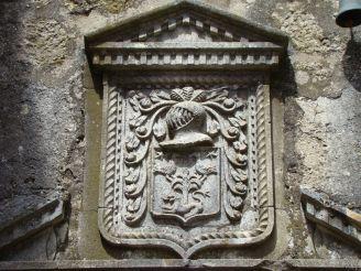 Ecusson de l'hôtel de Grailhe 17ème siècle