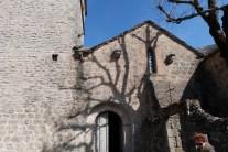 L'église portail d'entrée