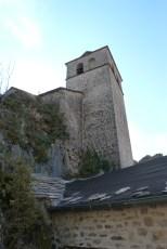 Le four banal et le clocher de l'église en arrière plan