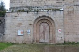 Abbaye de Sylvanès - façade oues