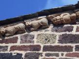 Façade occidentale - décors sculptés