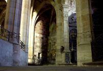 Nef - le déambulatoire et les chapelles rayonnantes