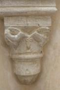 Salle capitulaire - chapiteaux décorés