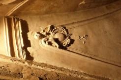 Salle capitulaire - voûte décorée de pypseries et de stucs