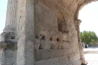 Arche latérale - façade intérieure