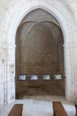 La nef chapelle 13ème siècle- fresques