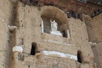 Statue d'Auguste dans sa niche